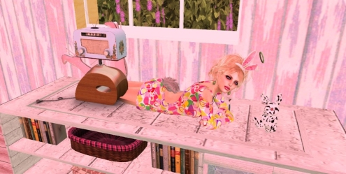 Retro Easter Bunny